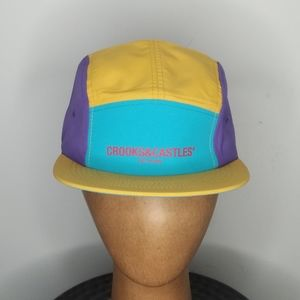 Crooks and Castles - 6 panel cap - NWT